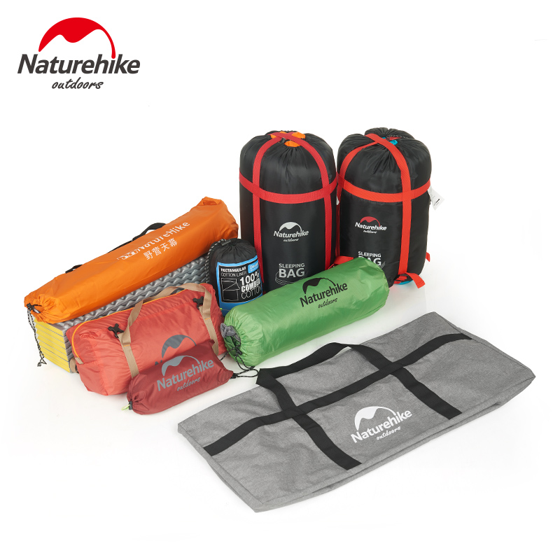 Naturehike 45L 100L Upgrade Folding Large Capacity Storage Bag Outdoor Ultralight Durable Bag Duffel Bag Portable Travel Camping