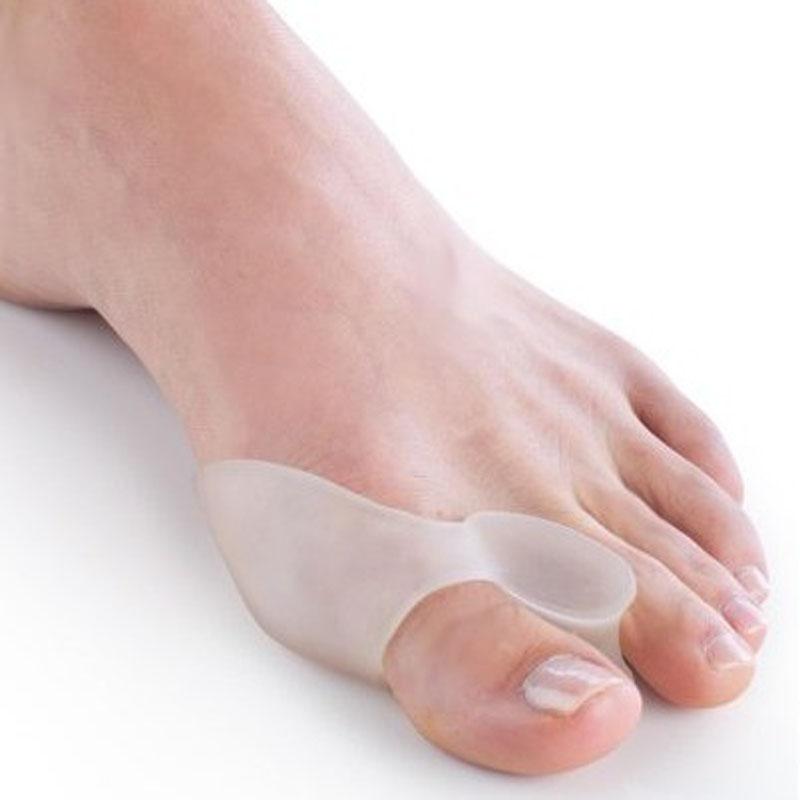 Silicone Gel Foot Fingers Toe Separator Thumb Valgus Protector Bunion Adjuster Hallux Valgus Pro Guard Feet Care (5)