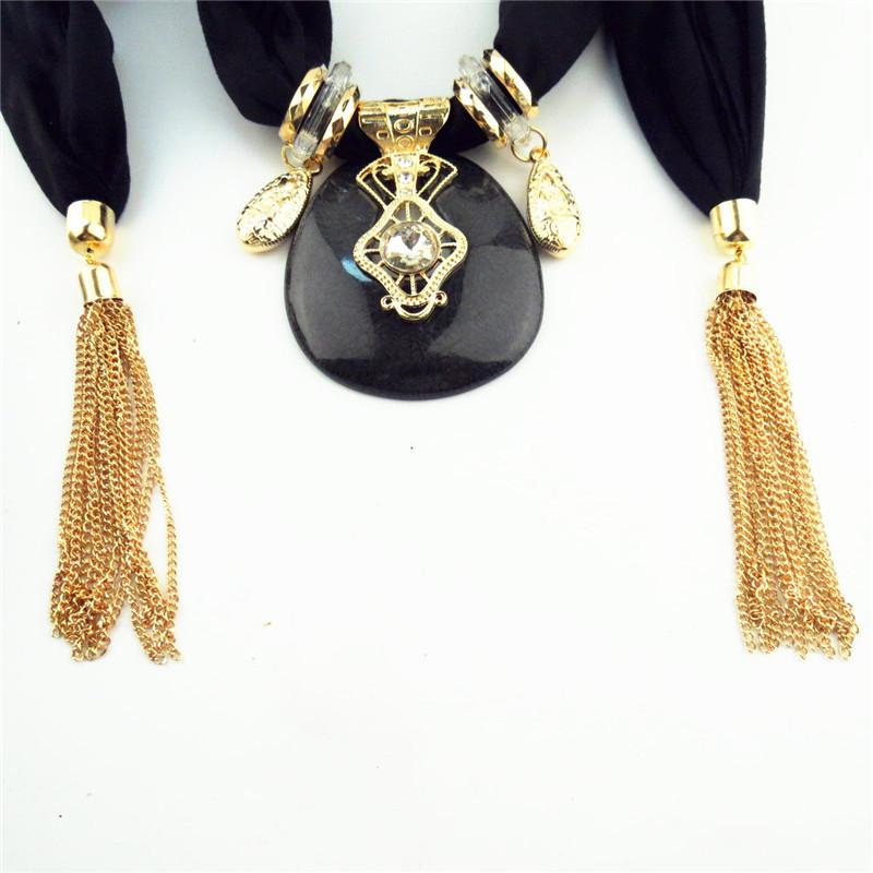 Acheter pas cher Collier foulard bijoux mode  | OkO-OkO