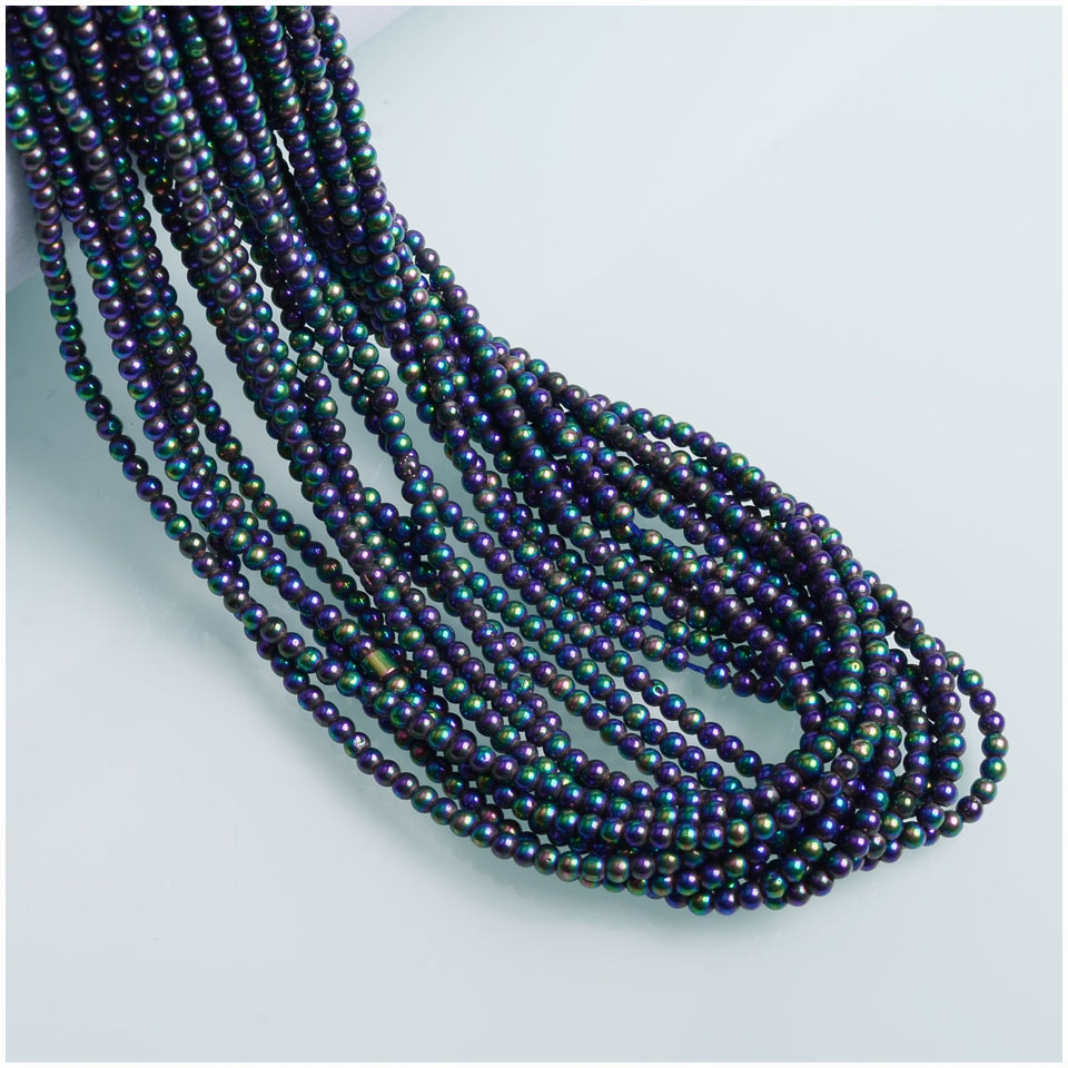 Hot sales Small Beads 1mm Round Beads Spacer Glass Beads For Jewelry Making