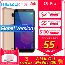 Meizu C9 Pro 3GB 32GB GSM/LTE/WCDMA Quad Core Fingerprint Recognition 13MP New Mobile-Phone