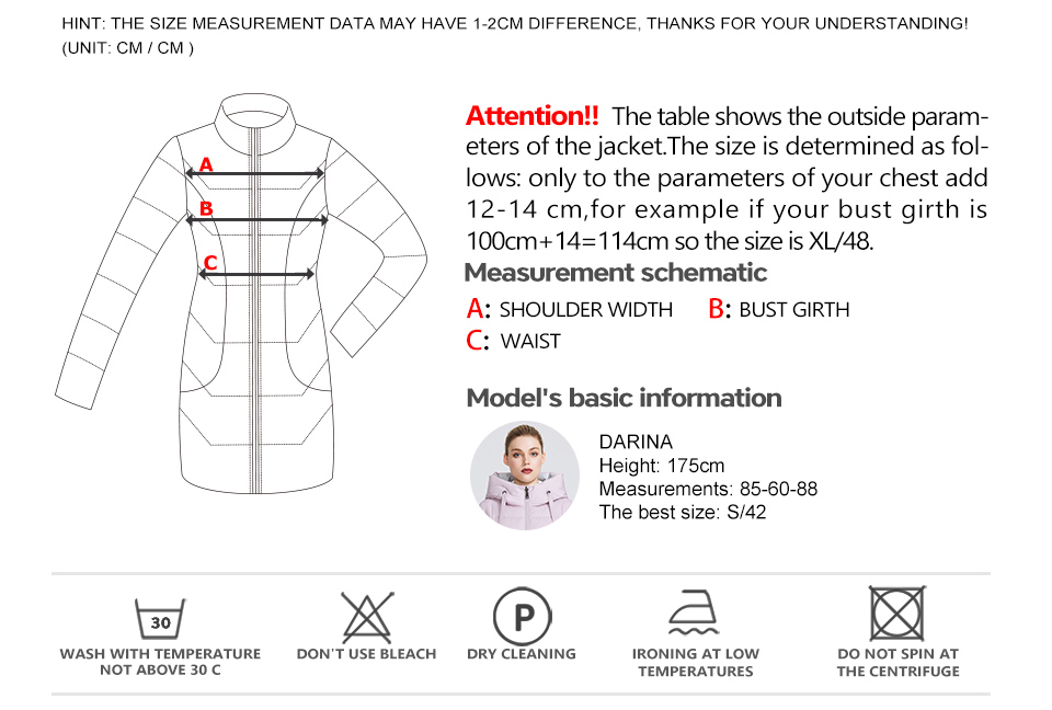MIEGOFCE 19 Winter Jacket Women's Collection Warm Jacket With Unusual Design and Colors Winter Coats Gives Charm and Elegance 5