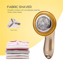 Carpet Lint-Remover Electric-Fabric-Shaver Sweater Fabrics Fuzz-Shaver Rechargeable 0