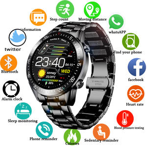 SDigital Watch Steel-...
