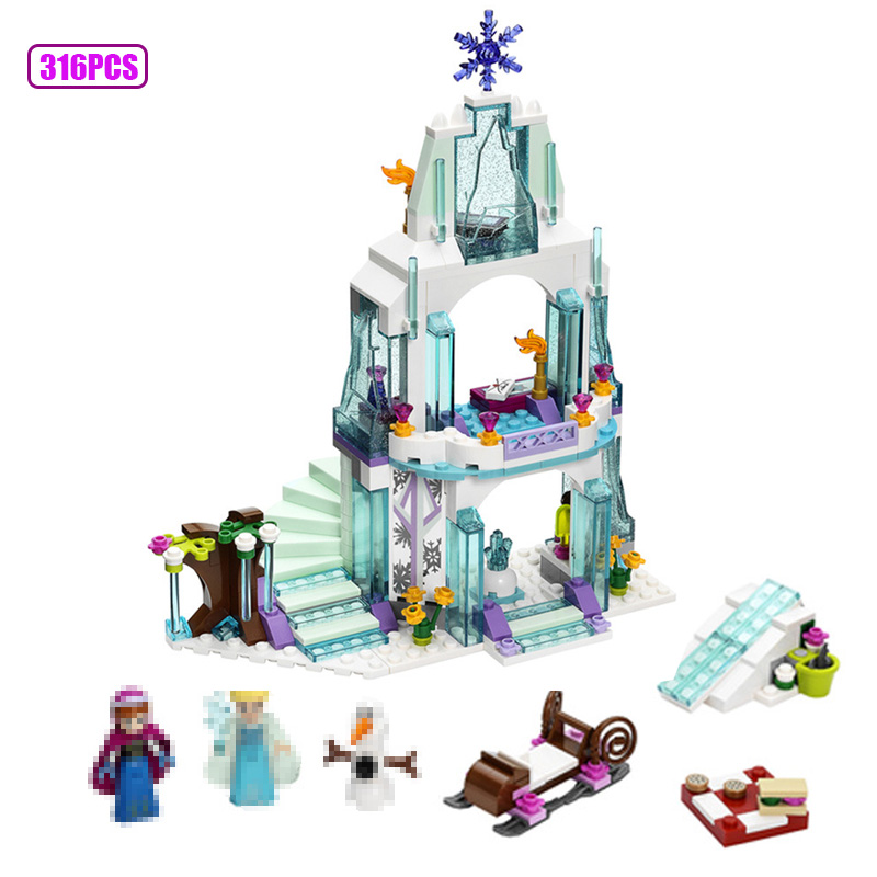 316pcs ice castle