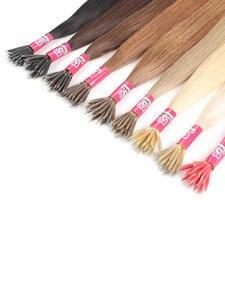 Human-Hair-Extensions Vsr-Machine Remy-Hair Hair-Blonde-Color Fusion Nano Micro-Beads