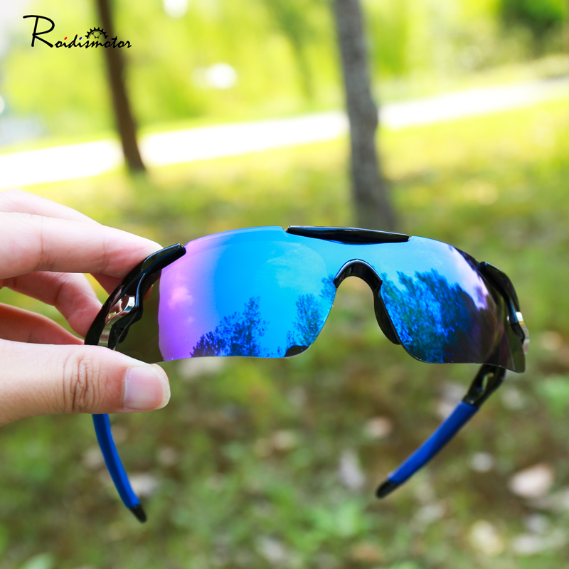 Men Women Cycling Mountain Glass Bike Goggles Bicycle Eyewear Sunglasses 6colors