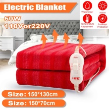 Heating-Pad Heated-Mat Electric-Blanket Warm Waterproof Double-Single-Bed Temperature