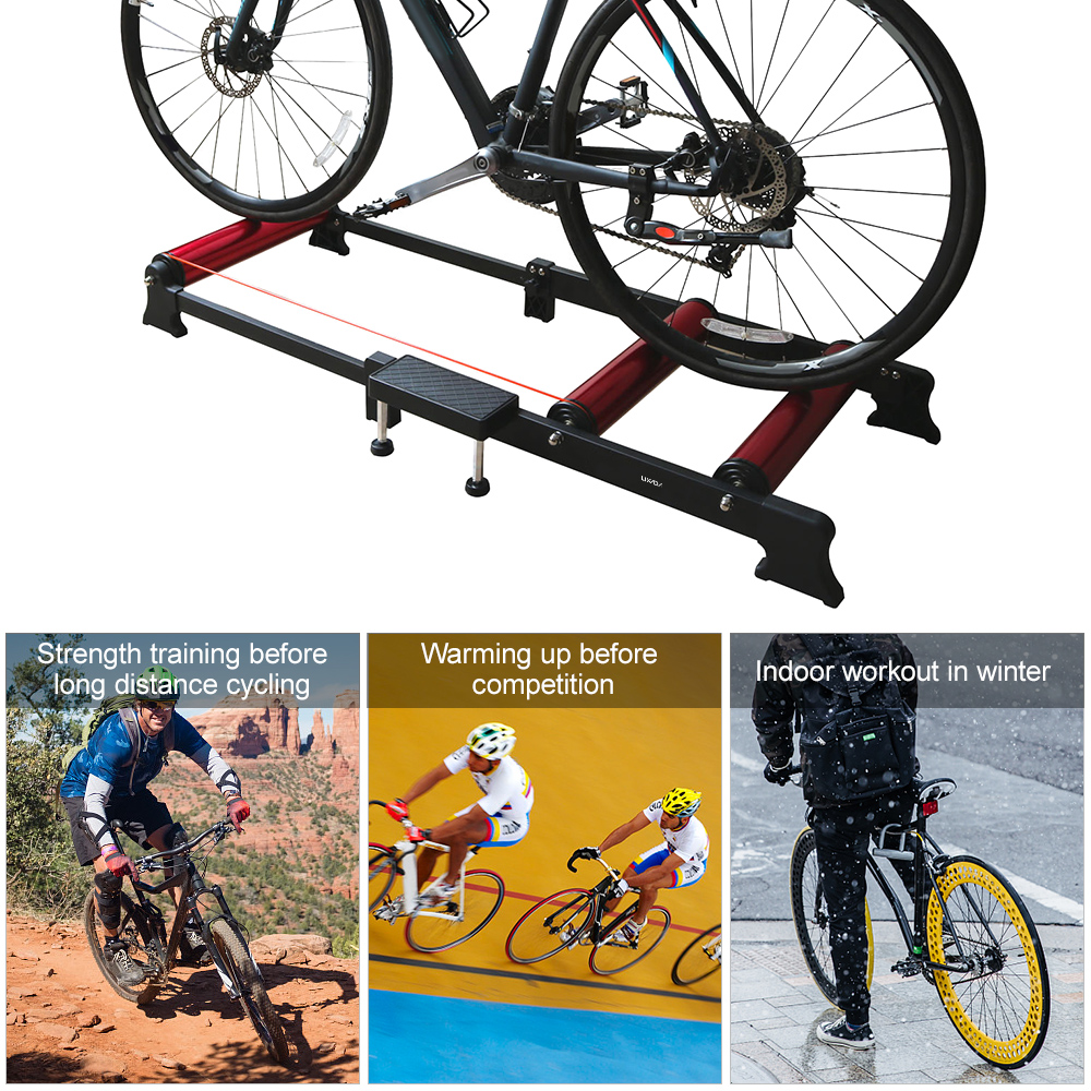 PRO Bicycle Cycling Parabolic Roller Trainer Indoor Bike Exercise 150KG HOT