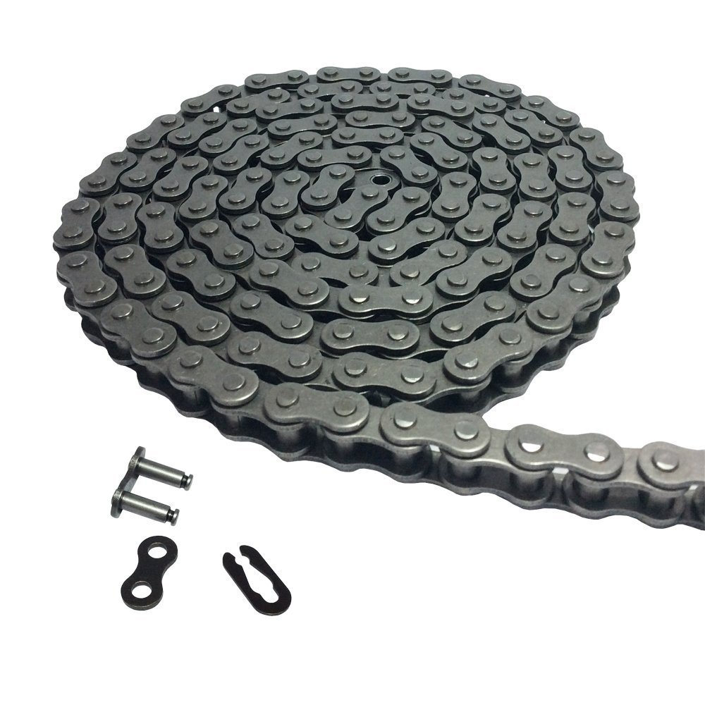 """5 Meters  #25 Roller Chain Pitch 6.35mm Single Strand For 1//4/"""" 04C Roller Chain"""