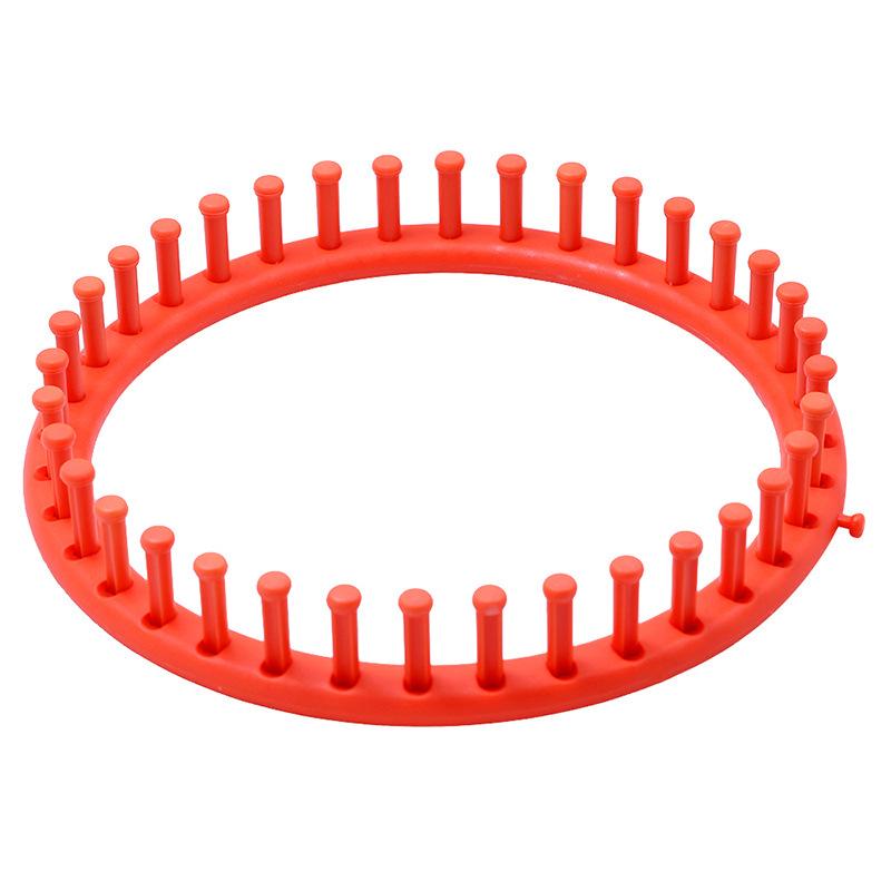 Round Knitting Loom Set Knit Circle Tool knitter Circular Peg For Hat Scarf M3J4