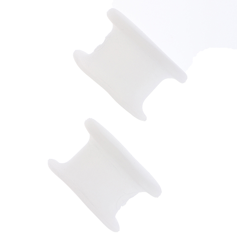 2pcs/Set Silicone Gel Bunion Toe Corrector Orthotic Straightener Separator Foot Care Corrector Tools Toe Bone Orthotics