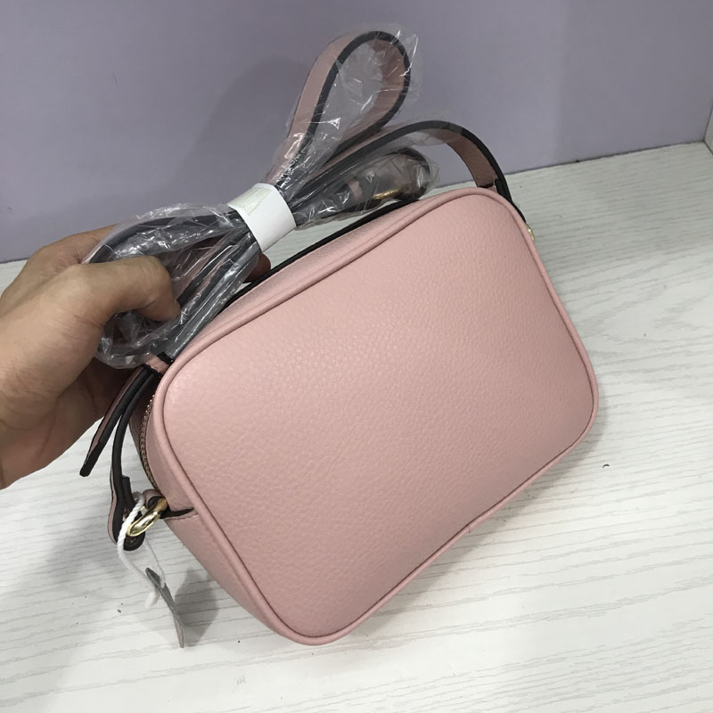 Designer Handbags Disco-Bag Crossbody Cowhide Soho Genuine-Leather Famous Fashion High-Quality title=