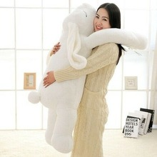Pillow Cushion Plush-Toy Ear-Bunny Doll Toy Gift Cute Cartoon Cotton 90cm 110cm Giant