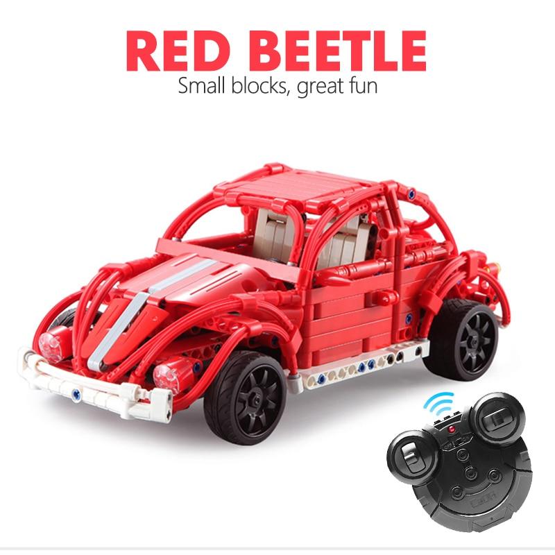 CaDA C51016 Red Beetles RC Building Block 15
