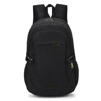 Fashion Large-capacity Leisure Backpack Men's Travel Backpack Retro Outdoor Sports Canvas Backpack Bag