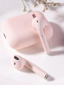 Ear Headphone Bluetooth I12 Tws Matte Sport Wireless-Headset Original for Pop-Up