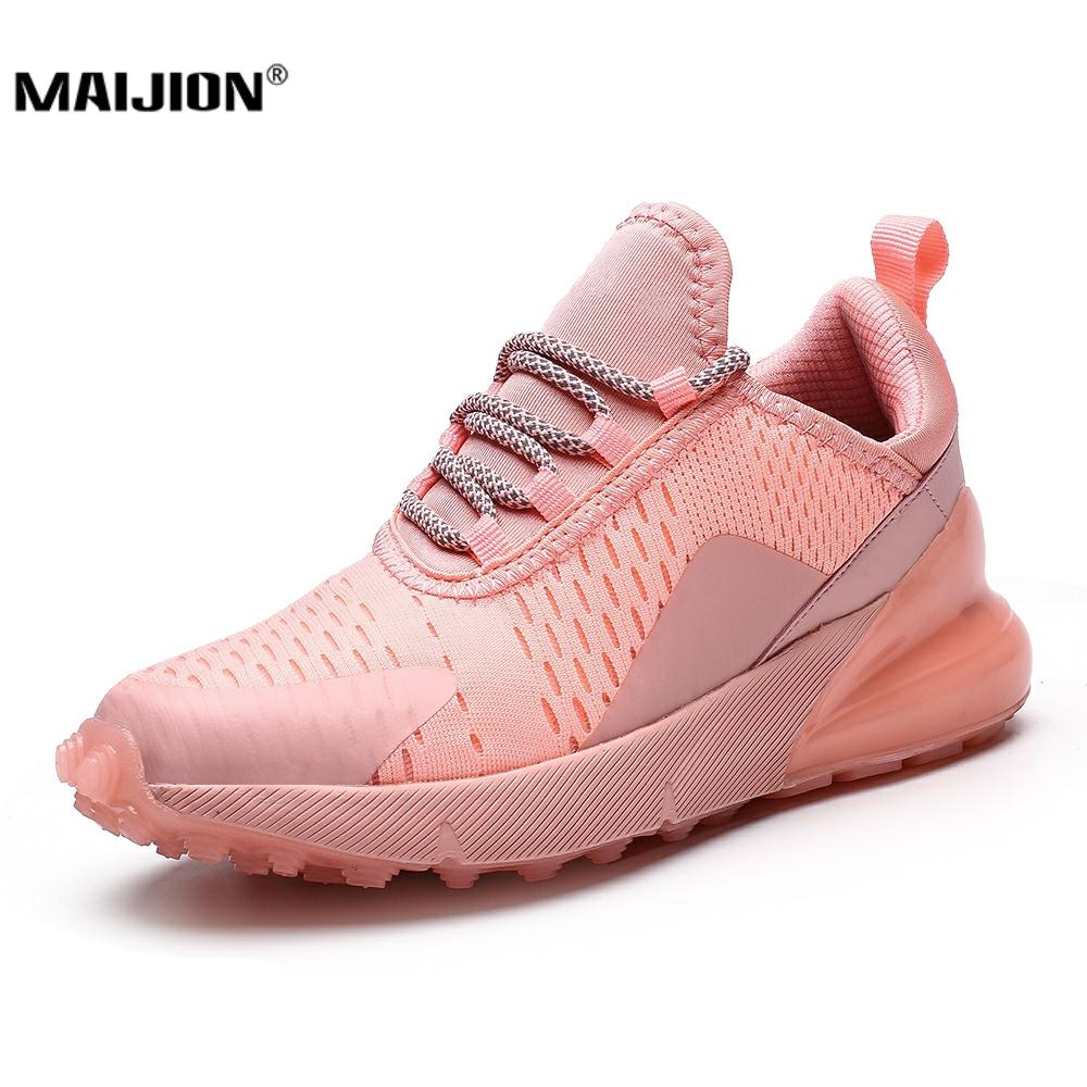 Cushion Running Shoes For Women Breathable Sneakers Non Slip Damping Jogging Sport Shoes Plus size Female Trainers