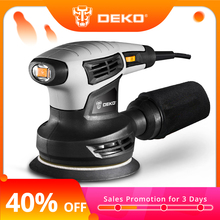 DEKO Orbit Sander Hybrid 280W Dust-Exhaust 15-Sheets Random with of