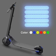 Reflective-Stickers Scooter-Part-Accessories E25-Series Ninebot Es1 4pcs for Es2/Es3/Es4/..