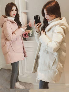 Jacket Snow-Coats Hooded Parkas Sintepon Warm Female Thick Long Casual for Subscribers