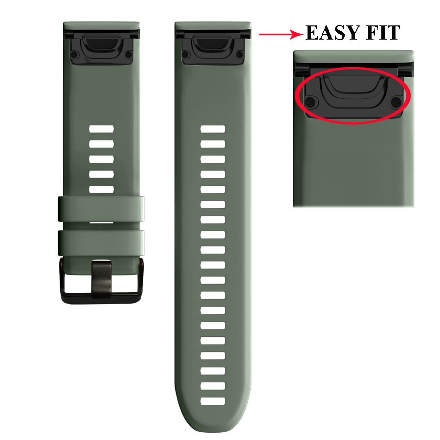 26-22MM-Quick-Release-Easy-Fit-Silicone-Watch-Wrist-band-Strap-for-Garmin-Fenix-5X-5(5)