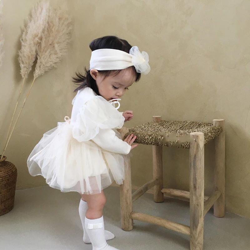 Baby Princess Party Wedding Dress 6