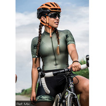 Cycling-Suit Bike Triathlon Race Summer 9D Woman Condensed-Cushion Professional