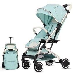Волшебная детская коляска ZC, складная, ЕС, США, без налогов, коляска, детская коляска, автомобиль, может лежать, ультра-светильник, портативны...