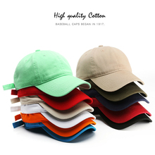 Baseball-Cap Hat Wholesale Solid-Color Women Fashion Casual SLECKTON Cotton for And Washable