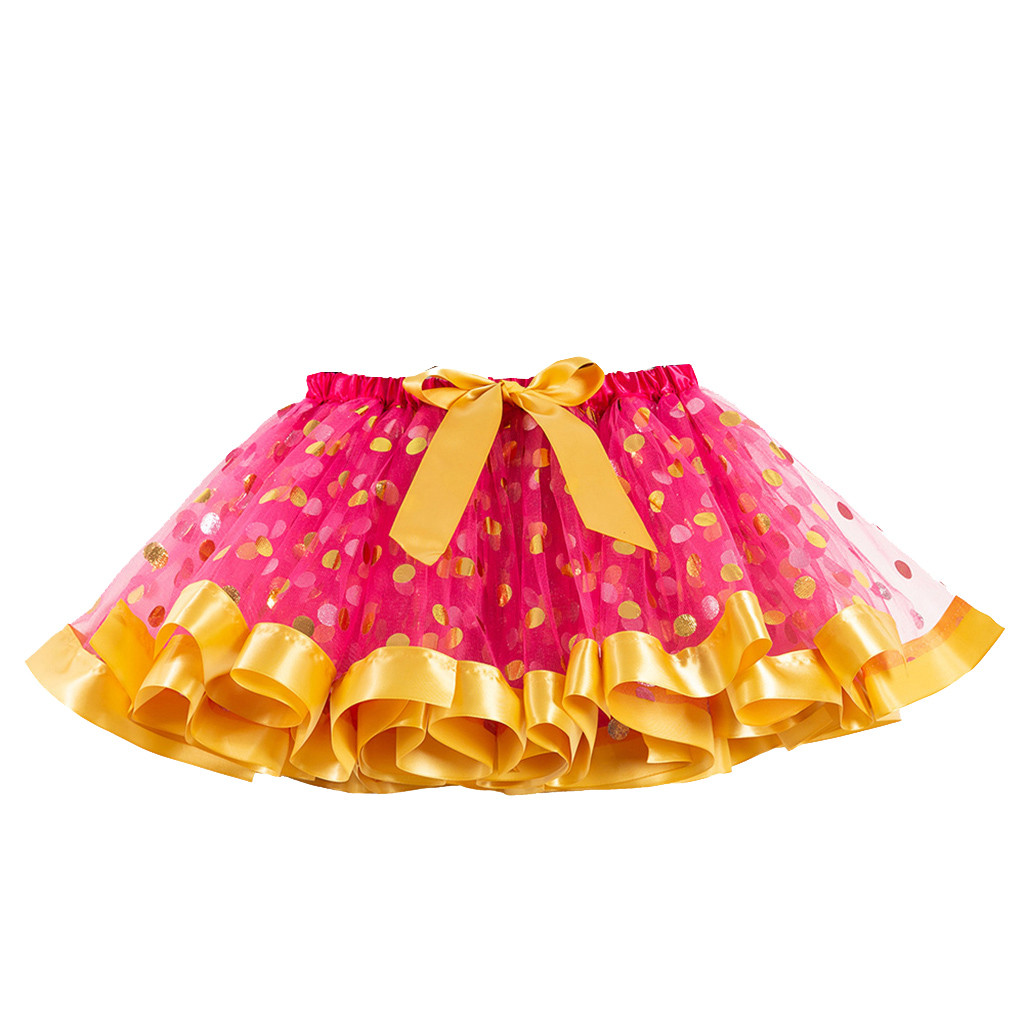 Fashion Toddler Kids Girls Tutu Skirt Dress Up Costume Battle Dance Fancy Party