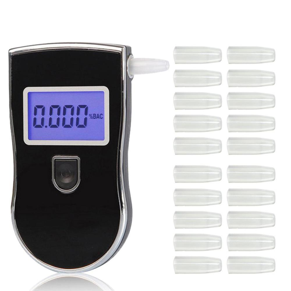 Breathalyzer Nozzles-Mouthpieces AT-818 Digital for Blowing Durable 20/50pcs title=