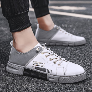 New Arrival Men White Flat Shoes Lace-up Comfortable Sneaker for male tenis masculino adulto Top Quality Men Casual Shoes