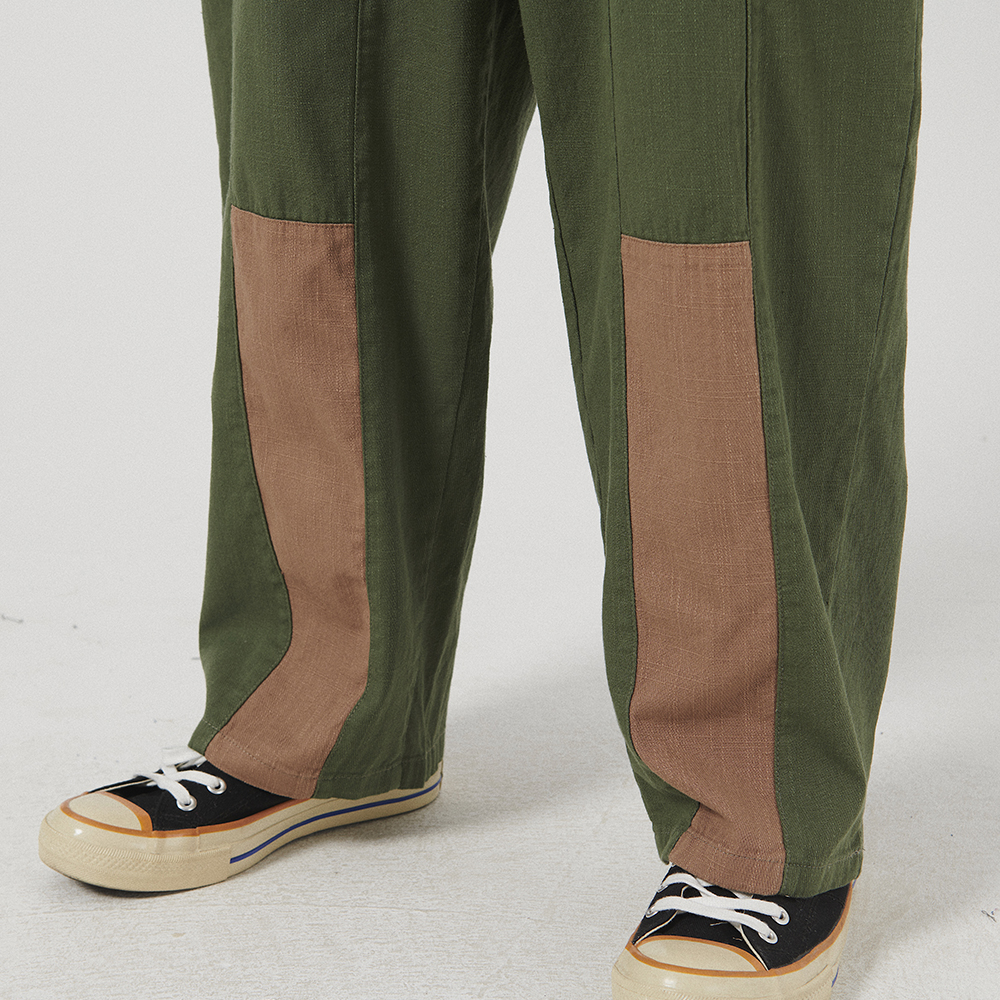 Vintage Patch Work Wide Leg Pants for Men Japanese Streetwear Men/'s Sweatpants Hip Hop Colorblock Loose Cargo Pants Women Male