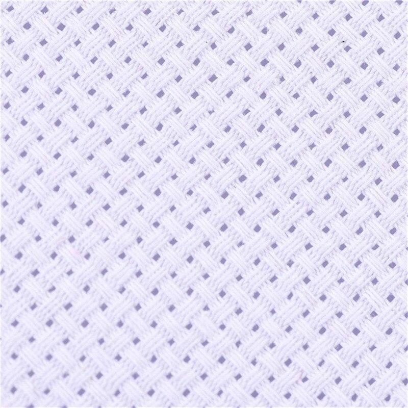 30x30cm 30x45cm Aida Cloth 11CT 100% Cotton Embroidery Cross Stitch Fabric Canvas DIY Needlework Sewing Handcraft Tool For Women (4)