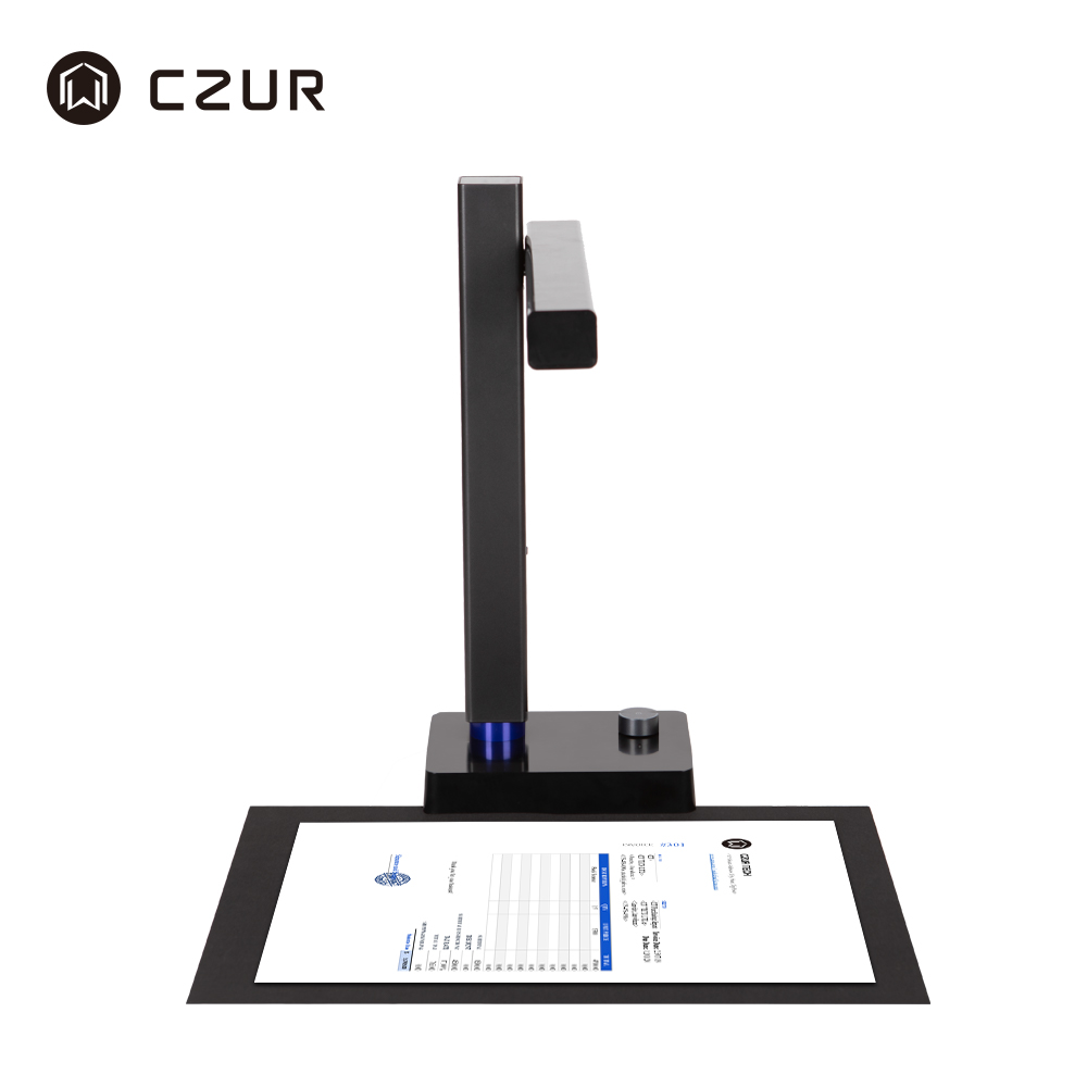 CZUR Document-Scanner Office Portable High-Speed A4 USB with 5MP/8MP Ocr-Function Usb-2.0 title=
