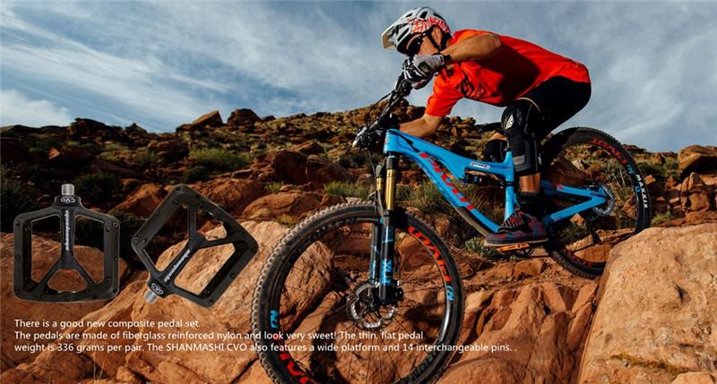SMS 0.1 PLUS Cycling MTB Road Bicycle DU Flat Pedal BMX AM Bike Pedals