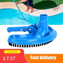 Vacuum-Head-Brush-Cleaner Pool-Suction Head-Cleaning-Tool Swimming-Pool Half-Moon Flexible