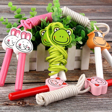 Toys Rope Wooden-Handle Fitness Girls Children Sport-Equipment Animals Educational Boys