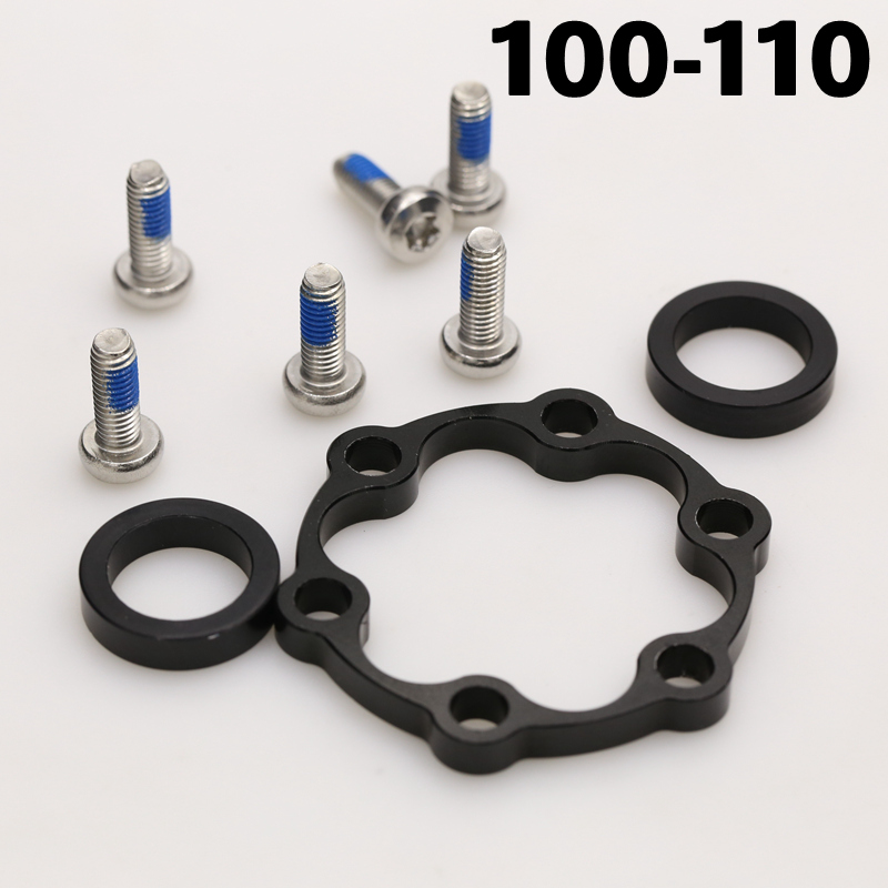 NA Bicycle Hub Adapter Aluminum Alloy Convert 100 To 110mm//142 To 148mm Converter Bike Repair Supplies
