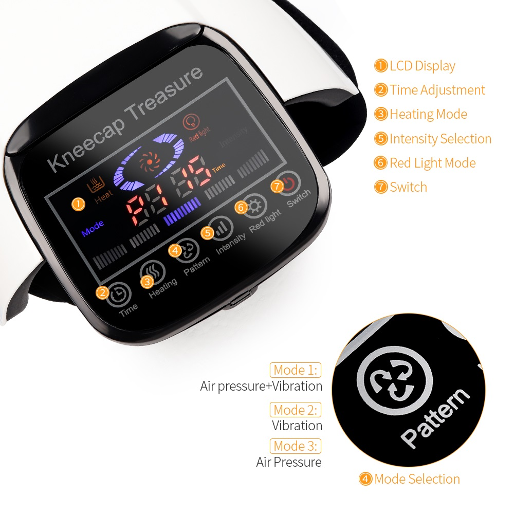Electronic Knee Massager For Pain Relief