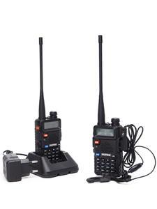 Baofeng 400-520mhz Walkie-Talkie Portable Radio Dual-Band Handheld UV5R 2PCS Ham Vhf/uhf136-174mhz
