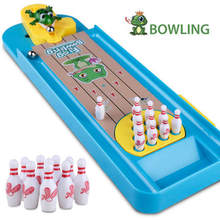 Toy Game-Toys Sports-Games Desktop Mini for Kids Bowling Interactive-Table Gift Educational
