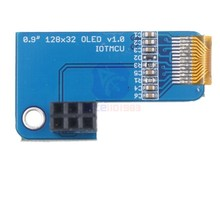 diymore 0.91 Inch I2C Pi OLED LCD Display Module 128x32 SSD1306 Driver for Raspberry