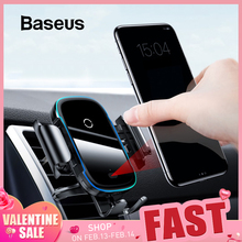 Baseus Car-Charger Charging-Intelligent Qi iPhone 11 Infrared Fast Pro Wireless Samsaung