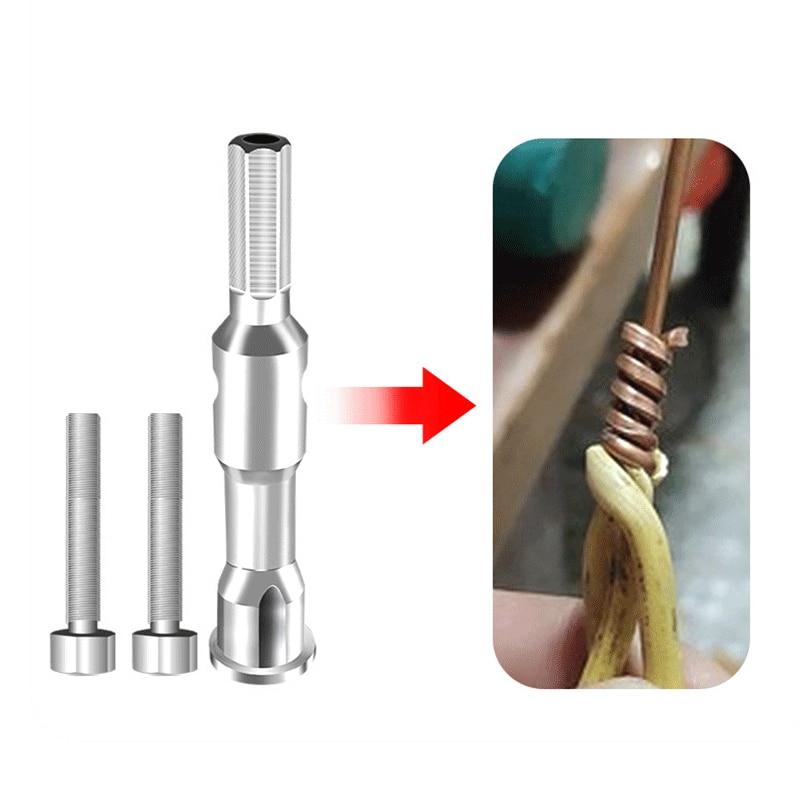 tornado a filo Strumento attorcigliatore antiossidante strumento connettore rapido cavo di alimentazione Rect/ángulo spellafili leggero e facile da trasportare