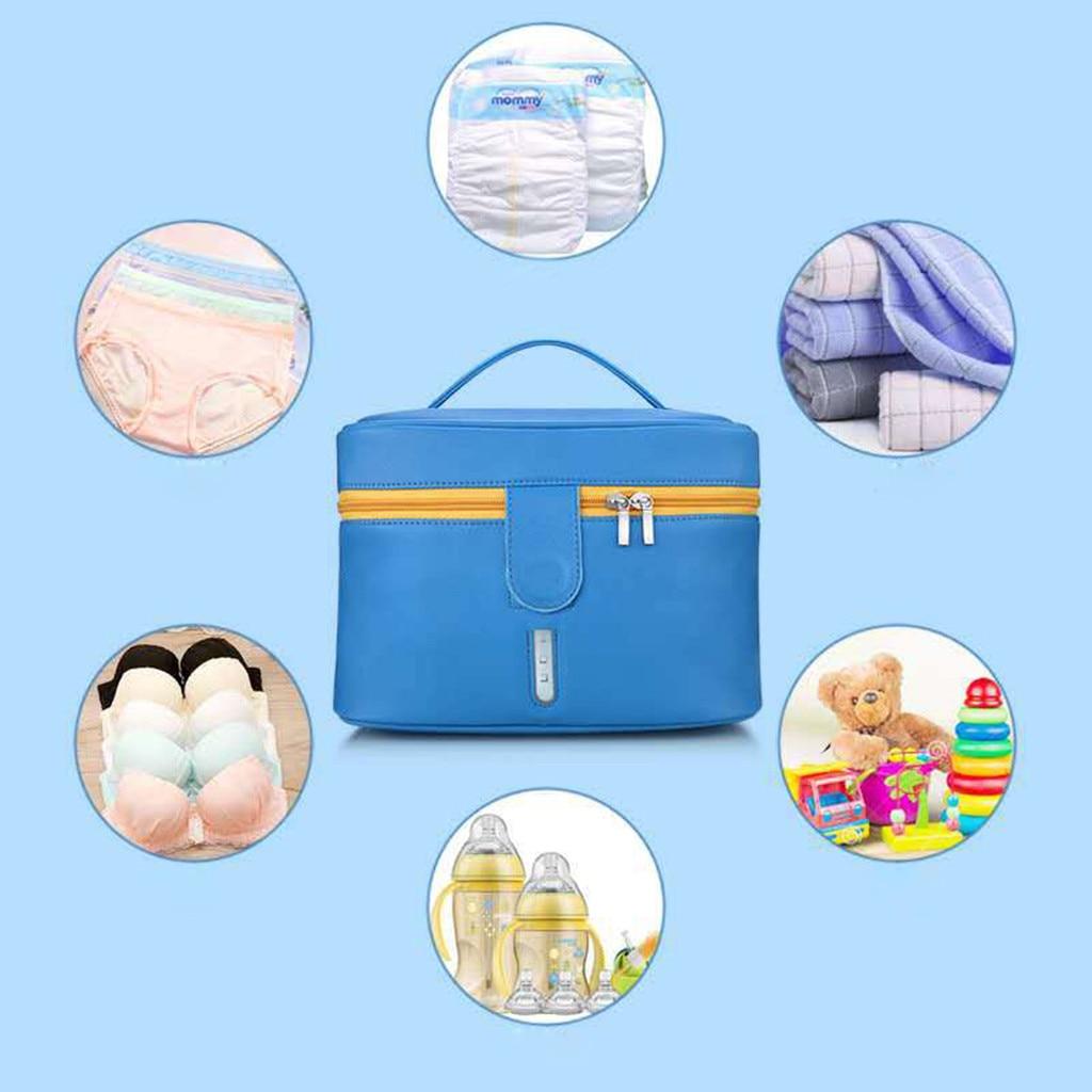 Soccer Ball - Blue Disinfecting Box UV Sterilizer Box USB Disinfecting Bag Cleaner Disinfection Cabinet Sterilization Box Storage Box