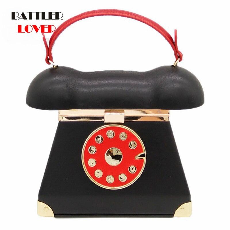 Vintage Telephone Shape Women