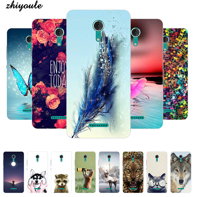 For Coque Wiko Tommy Case Luxury Cartoon TPU Case For fundas Wiko Tommy2 Soft Silicone Phone Protective Back Cover Skin