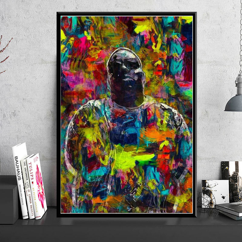 Biggie Smalls Tela Tupac Notorious B.I.G Poster Stampa 30x20 Tela 2PAC